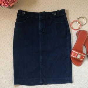 Banana Republic Blue jean skirt